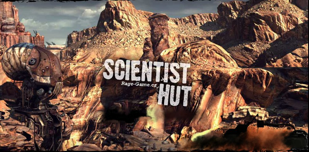 RAGE Scientist Hut