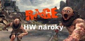 rage hw nároky hry